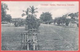 CEYLON / SRI LANKA - CPA RR NV - CINNAMON GARDEN OBSERVATORY COLOMBO - Sri Lanka (Ceylon)