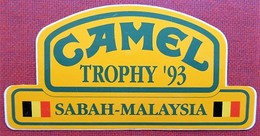 Camel Trophy 93 - Sabah - Malhaisia - Belgium - Autocollants