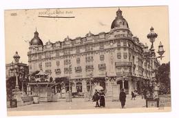 XW 1190 Nice - Hotel Ruhl / Viaggiata 1920 - Cafés, Hôtels, Restaurants