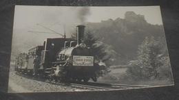 25 - Rare Photographie Du Centenaire D'une Ligne , Fort De Joux De Côté Cluse De Pontarlier -Train - Locomotive ---539 - Pontarlier