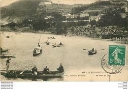 WW 42 LE PERTUISET. Jour De Fête Bords De La Loire 1909 - Autres Communes