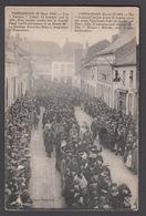 """CPA -  Belgique, POPERINGHE, 12 Mars 1915 - Les """"Tauben"""" Jettent 11 Bombes Sur La Ville. - Poperinge"""