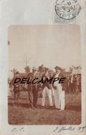 72 - LE MANS - Carte Photo Un Jour De Courses Hippodrome 1909 - Le Mans
