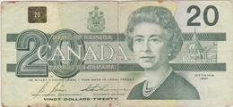 Canada - Billet De 20 Dollars - Elizabeth II - 1991 - Kanada
