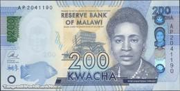TWN - MALAWI A66 - 200 Kwacha 1.1.2016 Prefix AP UNC - Malawi