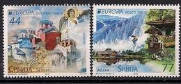 2012 Serbien  Mi. 464-5**MNH  Europa - Europa-CEPT