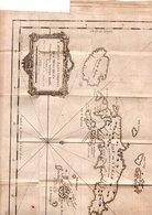 CARTE ANCIENNE ASIE INDONESIE ILES MOLUQUES CERAM BOURO AMBOINE BAUDA   BANDA - Carte Geographique