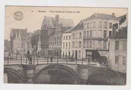 Malines  Mechelen   Pont Gothique Et Quai Au Sel  Edit Bertels N° 11 - Mechelen