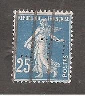Perforé/perfin/lochung France No 140 JTL Ets J. Thibouville Lamy Et Cie - France