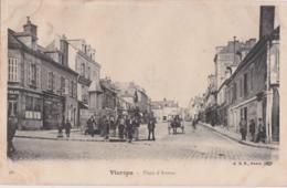 By - Cpa VIERZON - Place D'Armes - Vierzon