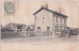 By - Cpa AUBIGNY (Cher) - La Gare - Aubigny Sur Nere