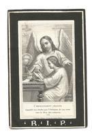Oud Doodsprentje Echtpaar Vissers Van Dyck Loenhout 1861-1877 - Andachtsbilder