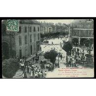 88 - RAON L'ETAPE (Vosges) - La Bagarre Du 28 Juillet 1907 - Avant La Charge - Menaces à L'Armée à 3 Heures 40 - Raon L'Etape