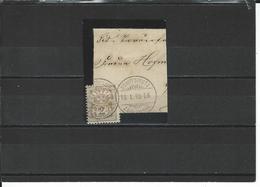 SBK 58A O Schiffspost Zürichsee - 1882-1906 Wappen, Stehende Helvetia & UPU