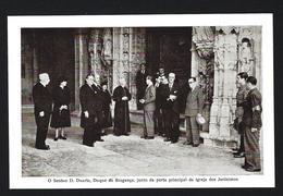 Postal D.DUARTE NUNO Duque De Bragança, Visita A LISBOA 28 Maio 1942. Claimant To Defunct Portuguese Throne PORTUGAL - Personalità