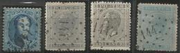 BELGIQUE - Oblitération(s) LP144 GEMBLOUX - Postmarks - Points