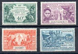 Dahomey  Dahome Y&T 99* - 102* - Dahome (1899-1944)