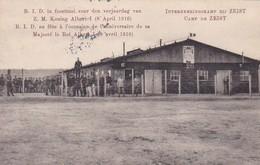 AK Zeist - Camp - Interneeringskamp - Verjaardag Van Z.M. Koning Albert I - Feldpost Legerplaats Biy Zeist 1916 (49082) - Zeist