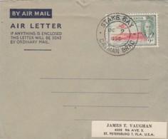 Cayman Islands Aerogramme 1950 - Cayman Islands