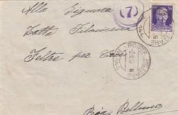 Italien Posta Militaire Zensur Brief 1940-45 - 1900-44 Victor Emmanuel III