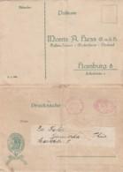 Deutsches Reich Werbung Postkarte 1922 - Unclassified