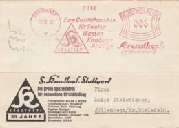 Deutsches Reich Werbung Postkarte 1932 Rotfrankerung - Unclassified