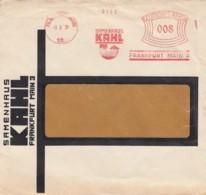 Deutsches Reich Werbung Brief 1931 Rotfrankerung - Covers