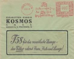Deutsches Reich Werbung Brief 1936 Rotfrankerung - Covers