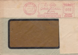 Deutsches Reich Werbung Brief 1942 Rotfrankerung - Covers
