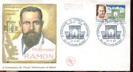 FDC 2éme Centenaire De L'école Vétérinaire - Maisons Alfort (93) - 27-5-67 - 1960-1969