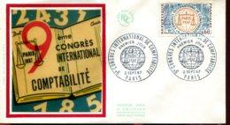 FDC 9éme Congrès International De Comptabilité - Paris (75) - 2 Sept. 67 - 1960-1969