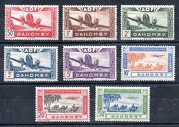 Dahomey  Dahome Luftpost Y&T PA 10* - PA 17* - Dahome (1899-1944)