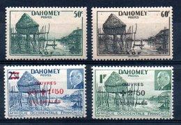 Dahomey  Dahome Y&T 151* - 154* - Dahome (1899-1944)