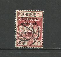 Fiume , ARBE 1920 - Mi. 21 I , Used - 8. WW I Occupation
