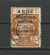 Fiume , ARBE 1920 - Mi. 22 I , Used - 8. WW I Occupation