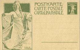 SUISSE INAUGURATION DU MONUMENT COMMEMORATIF DE LA FONDATION DE L UNION POSTALE UNIVERSELLE 1909 - Ganzsachen
