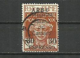 Fiume , ARBE 1920 - Mi. 26 , Used - 8. WW I Occupation