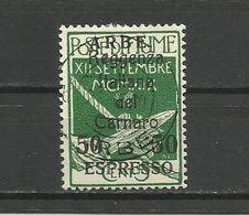 Fiume , ARBE 1920 - Mi. 27 , Used - 8. WW I Occupation