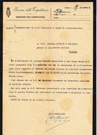 ** GOVERNO DELLA TRIPOLITANIA.- (TRIPOLI).- DIREZIONE DELL' AGRICOLTURA.-** - Documents Historiques