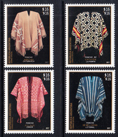 2017 Argentina Ponchos Costumes Fashion Complete Set Of 4 MNH - Argentinien
