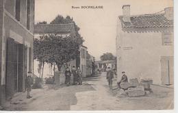 CPA Route Rochelaise (avec Cachet De Ciré D'Aunis) - Jolie Animation - Andere Gemeenten
