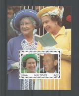 Maldives 1991 Queen's 65th Birthday S/S Y.T. BF 191 ** - Maldiven (1965-...)