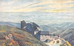 Ferme GRAND BALLON Guebwiller-Belchenkopf-Haut-Rhin-68-DESSIN-Dessinée-Illustrateur-HANSI-Jean-Jacques WALTZ Alsace - Hansi