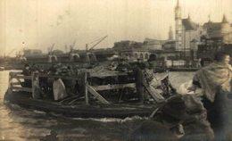 OVERZETDIENST OP DE SCHELDE  FOTOKAART  1914-1918 WWI ANTWERPEN ANVERS WWICOLLECTION - Belgique