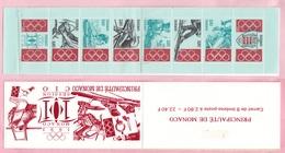 Principato Monaco 1993 Sc. 1871a Comitato Olimpico Internazionale 101 Session Olimpiadi Libretto MNH - Monaco