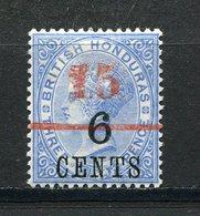 Honduras Britannique - N° 37 *  - Neuf Avec Charnière - Variété : Double 1 Du 15 - Honduras