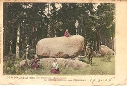 Schneidmühl , Nahe Karlsbad / Der Wackelstein  1906 - Westpreussen
