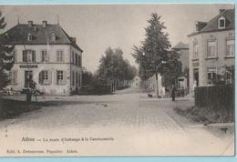 Athus : La Route D'Aubange & La Gendarmerie - Aubange
