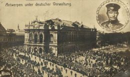 Antwerpen UNTER DEUTSCHER VERWALTUNG  WWI ANTWERPEN ANVERS WWICOLLECTION - Belgique