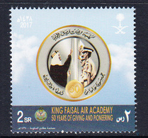 2017 Saudi Arabia Air Academy Aviation Complete Set Of 1 MNH - Arabia Saudita